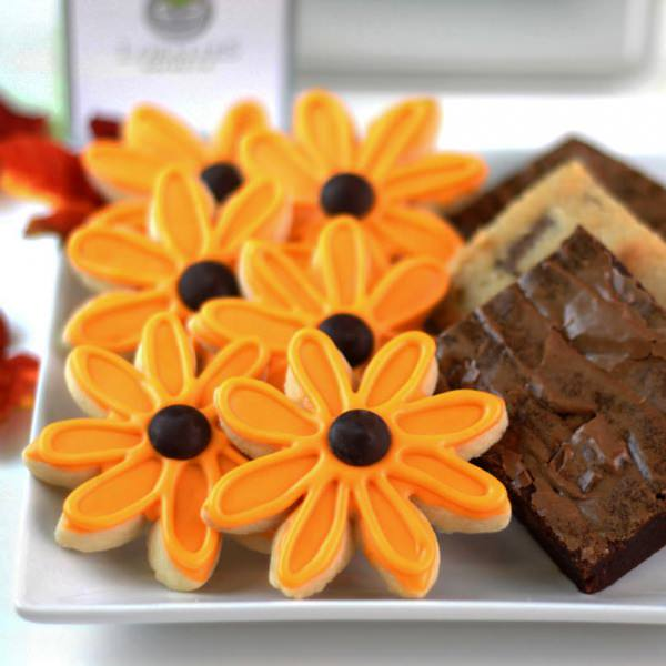 Sunflower & Brownie Combo-0