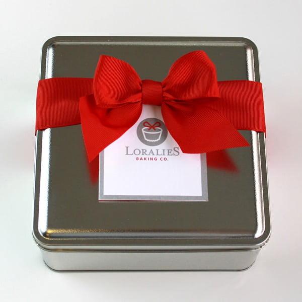 Valentine Shortbread Sampler Tin-681