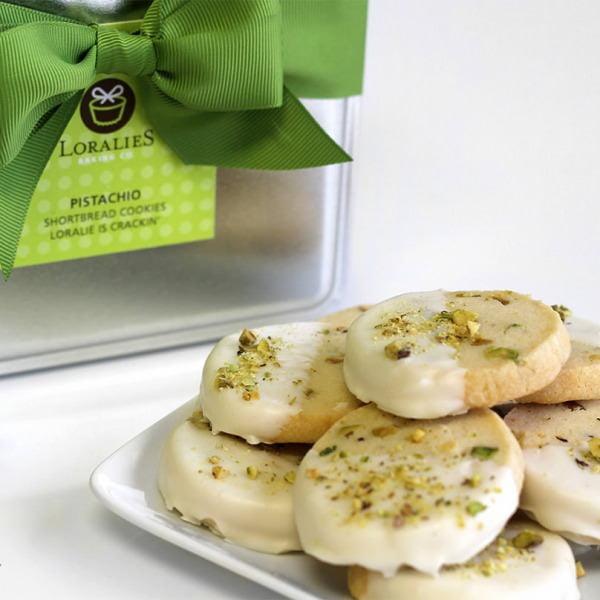Pistachio Shortbread Cookies-0